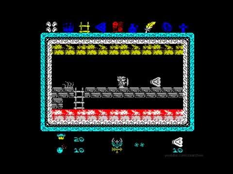 Knightmare 2 ZX Walkthrough, ZX Spectrum