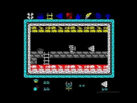 Knightmare 2 ZX Walkthrough, ZX Spectrum
