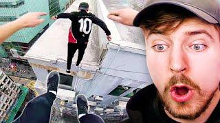 Extreme Rooftop Parkour Escape!
