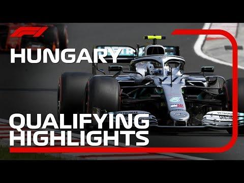 2019 Hungarian Grand Prix: Qualifying Highlights