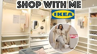 SHOP WITH ME AT IKEA TO BUY MY DREAM CLOSET