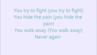 12 Stones-Running Out Of Pain(Lyrics)