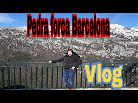 Visitamos Saldes e Maciso De Pedra Forca  Barcelona