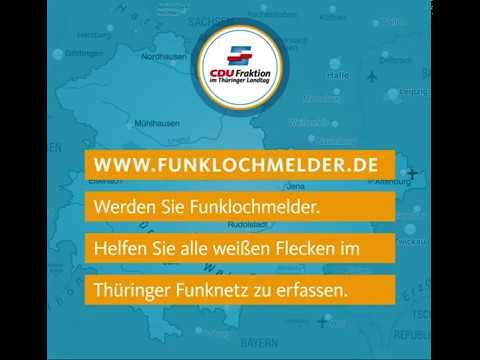 Funklochmelder Thüringen