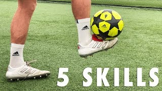 5 ADVANCED FOOTBALL SKILLS!