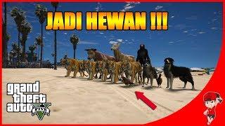 GTA V MOD (30) - BERUBAH JADI HEWAN 😂😂