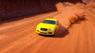Mine Racing with The Stig