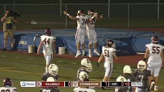 Highlights: Killingly 32, Stonington 7