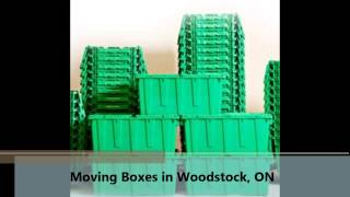 preview picture of video 'Moving Boxes Woodstock ON, YouBox'