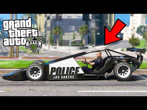 So I Replaced ALL COP CARS With These, This Is What Happened... (GTA 5 Mods - Evade Gameplay)