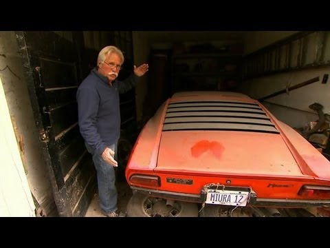 Lamborghini Miura Unearthed on Chasing Classic Cars