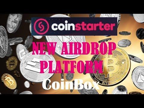 CoinBox (CoinStarter) - НОВАЯ AIRDROP ПЛАТФОРМА.