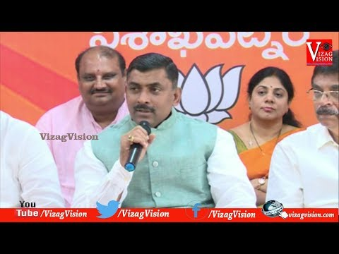 Press Conference by Sri Ajay Kallam Principal Adviser to Chief Minister at Publicity Cell