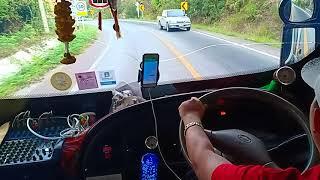 #รถบัสแต่งสวย ภายใน ห้องคนขับรถทัวร์ 8ล้อ 2ชั้น BUS SCANIA 113 , by ทีมงาน นายเย ออนทัวร์