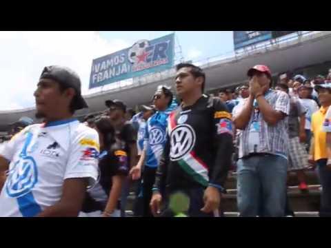 """""""Los Malkriados 2014: Dale Puebla Dele Ho"""" Barra: Malkriados • Club: Puebla Fútbol Club"""