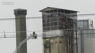 Požar v podjetju Murales v Ljutomeru