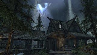 Skyrim PS4 Mods: Eldergleam Sanctuary House (Player Home)