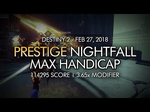 Destiny 2 Nightfall This Week