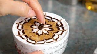 Flower #7 :: Latte Art