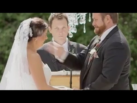 Groom Slaps Bee out of Bride's Face