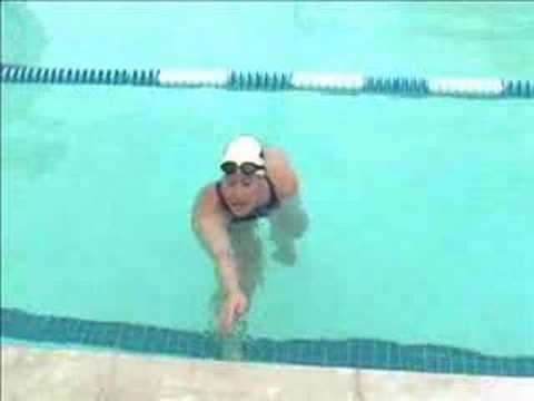 Catch-Up Drill (general stroke mechanics, reach, and streamlined swimming) (Drill 9)