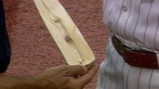 Sabo breaks bat, ejected for corked lumber