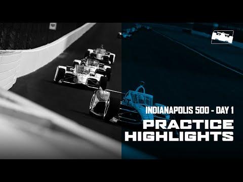 2020 インディ500 練習走行ハイライト動画