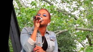 Chrisette Michele, Golden, Central Park Summerstage, NYC 8-21-10