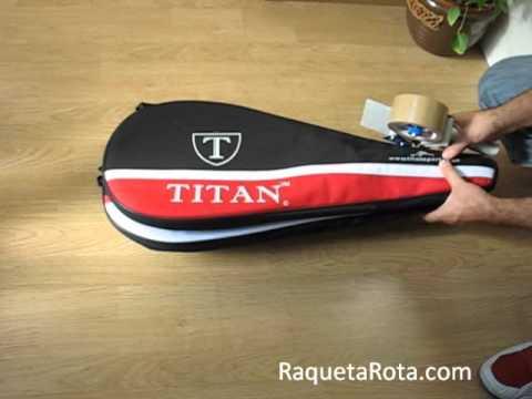 Como enviar raquetas con funda a RaquetaRota.com