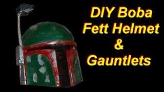DIY Boba Fett Costume: Helmet and Gauntlets (pepakura)
