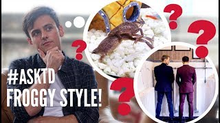 Gambar cover #AskTD Doing it Froggy Style?! | Q&A November 2017 | Tom Daley