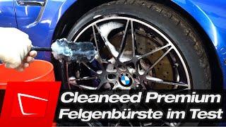 Cleaneed Premium Felgenbürste im Test - Felgen schonend reinigen mit Wollfaser und Felgenreiniger