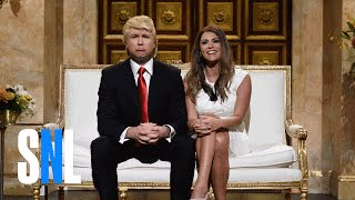 Donald and Melania Trump Cold Open - SNL - Video Youtube