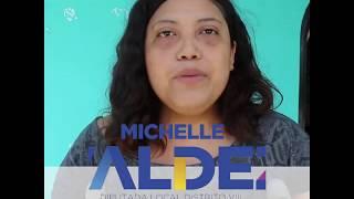 Yuridia Baltazar agradece a la Dra. Michelle Valdez por apoyarla en su cirugía de cadera