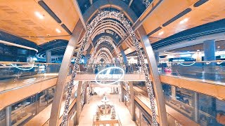Night at the shopping mall | GoPro Cinewhoop drone with ReelSteady | FPV