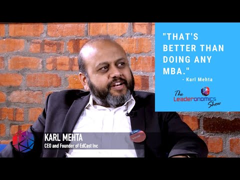 The 'Netflix' Of Knowledge And Learning - Karl Mehta, EdCast