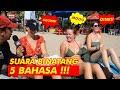 SUARA BINATANG 5 BAHASA INTERVIEW LUCU BULE DI BALI