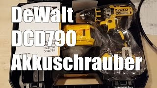 DeWalt Akku Bohrschrauber DCD790D2 QW