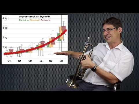 Wieviel Kraft ist nötig beim Trompetenspielen?