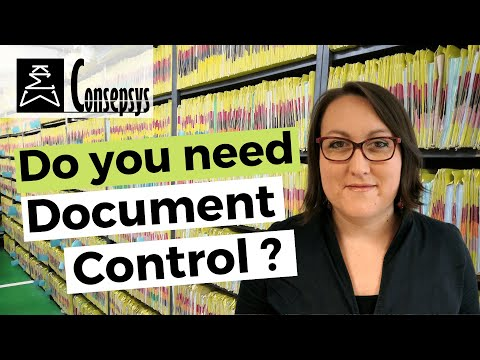 Do you need Document Control? – Consepsys Expert Explanation ...