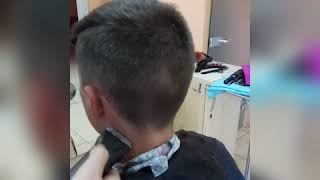 Мужская стрижка Undercut в ТЕХНИКЕ и СТИЛЕ NOVIALE Видео урок