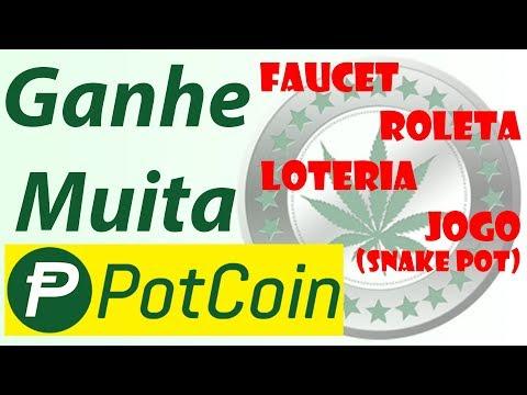 Faucet de PotCoin - Pagamento direto - Ganhe muitas moedas POTCOIN