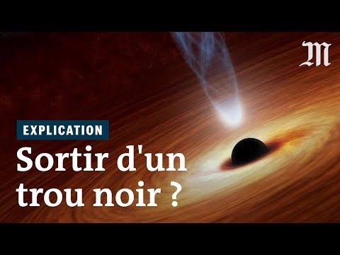 Peut-on sortir d'un trou noir ?