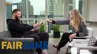 Blake Griffin Roasts Kristine Leahy With A 'Toast' To LaVar Ball | FAIR GAME