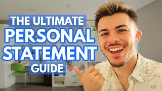 how to write the PERFECT personal statement for top universities!!!