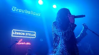SEEING LENNON STELLA AT THE TROUBADOUR *second Row*