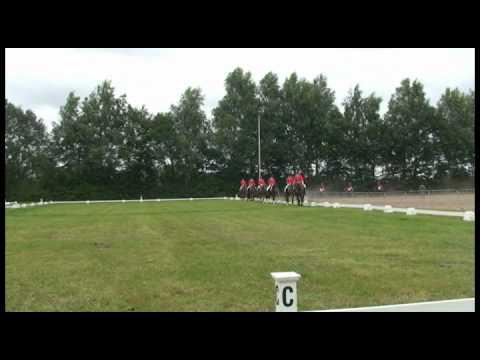 Selectiewedstrijd Brabantse kampioenschappen 2010 - Saxe Gotha 6 tal CDE Cat M