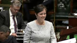 QUESTION TIME - Funding for Young Aboriginal Women