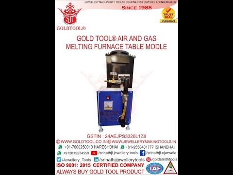 Gold Tool Air & Gas Powered Melting Furnace Table Model