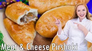 Meat and Cheese Piroshki | Kholo.pk
